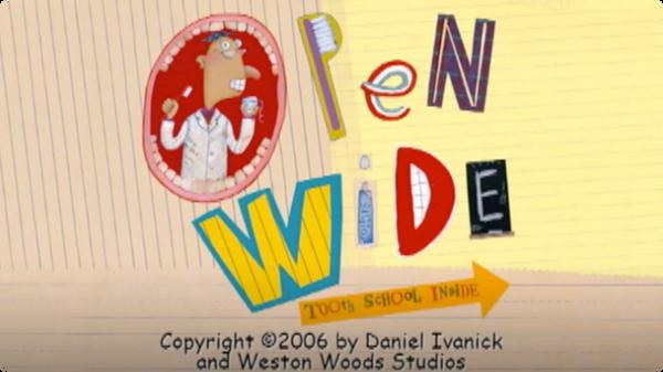 Open Wide - Tooth School Inside