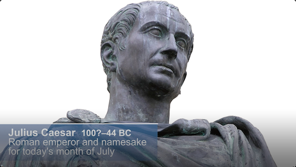 Did You Know: Julius Caesar