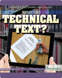 What Is a Technical Text?