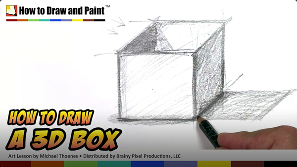 How to Draw a 3D Box