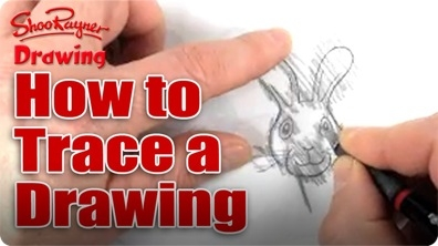 How to Trace a Drawing