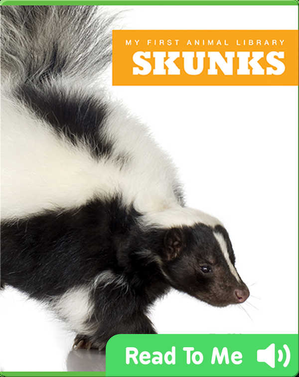 My First Animal Library: Skunks