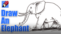 How to Draw an Elephant Real Easy