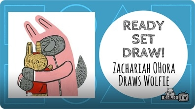 How to Draw the Wolfie from WOLFIE THE BUNNY