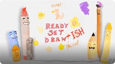 READY Set Draw-ISH! Peter H. Reynolds' THE DOT