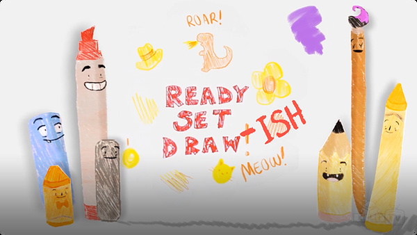 READY Set Draw-ISH! Peter H. Reynolds' THE DOT