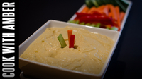 The Best Hummus Dip | Cook With Amber