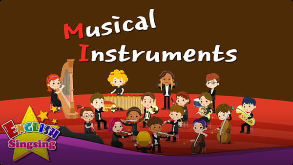 Kids vocabulary: Musical Instruments - Orchestra Instruments