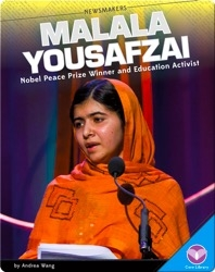 Malala Yousafzai Nobel Peace Prize Winner and Education Activist