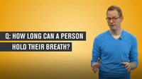 How Long Can A Person Hold Their Breath?