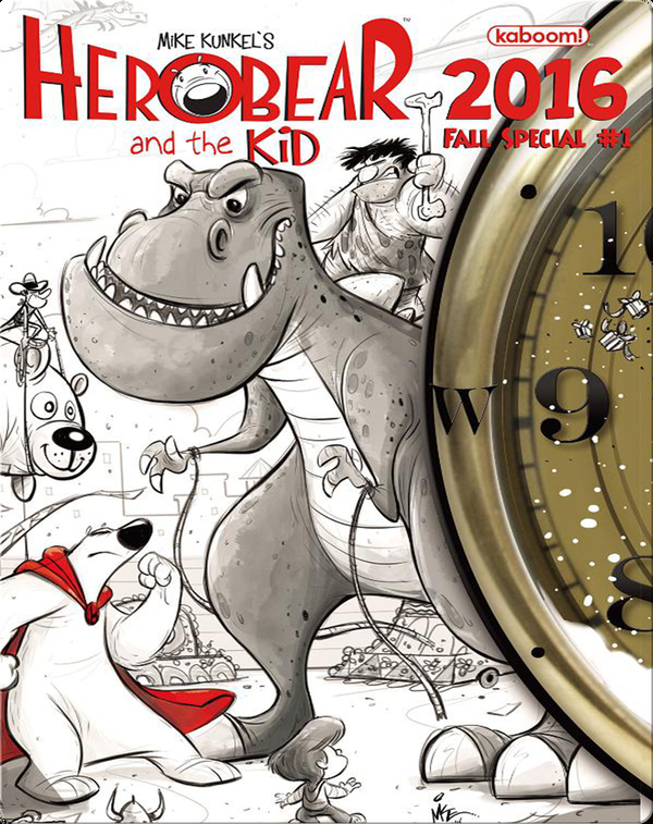 Herobear and the Kid 2016 Fall Special #1
