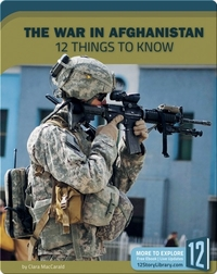 The War In Afghanistan 12 Things To Know