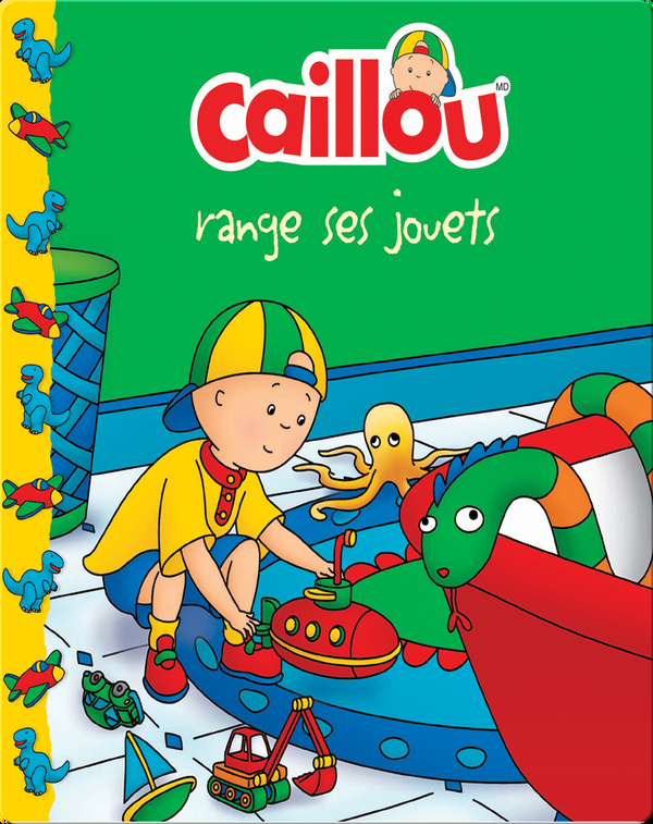 Caillou range ses jouets