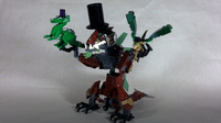 How To Build Fancy LEGO Dragons