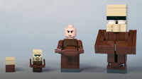 How To Build LEGO Minecraft Villagers