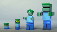 How To Build LEGO Minecraft Zombie