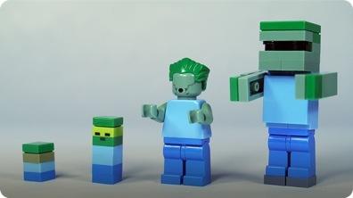 How To Build LEGO Minecraft Zombie