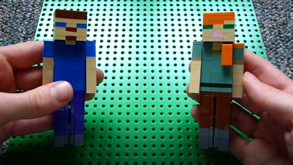 How to Build: Lego Minecraft Alex