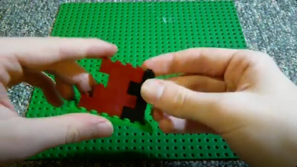 Lego Building Techniques - Textured Corners and Walls