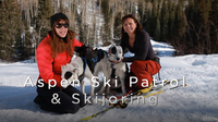 Aspen Ski Patrol and Skijoring | American Dog With Victoria Stilwell