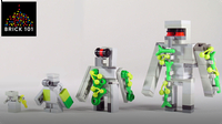 How To Build LEGO Minecraft Iron Golem