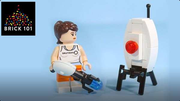 How To Build LEGO Portal Turret