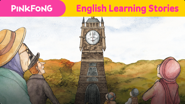 The Old Clock's New Hands (English Learning Stories)