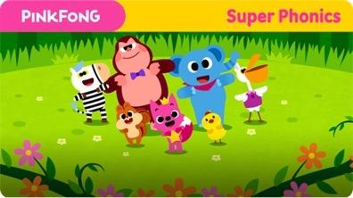 Super Phonics - Pinkfong's Song (ng)