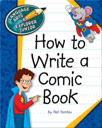 How to Write a Comic Book