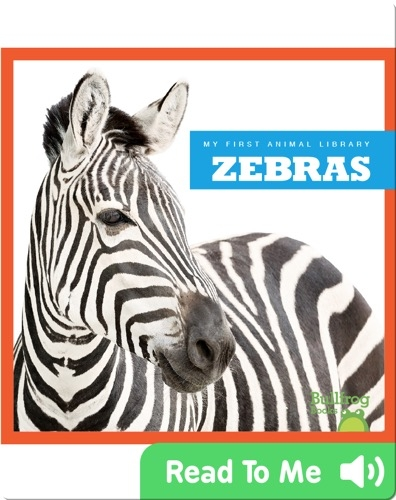 My First Animal Library: Zebra