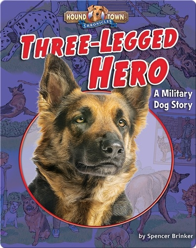 Three-Legged Hero: A Military Dog Story