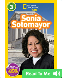 National Geographic Readers: Sonia Sotomayor
