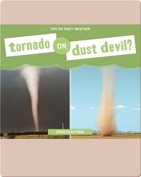 Tornado or Dust Devil?