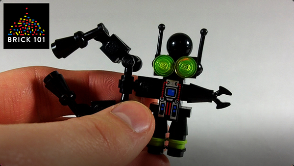 How To Build LEGO Big Arm Pinchbot