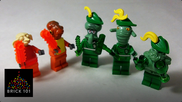 How To Build LEGO Ghoubilies and Grembilies