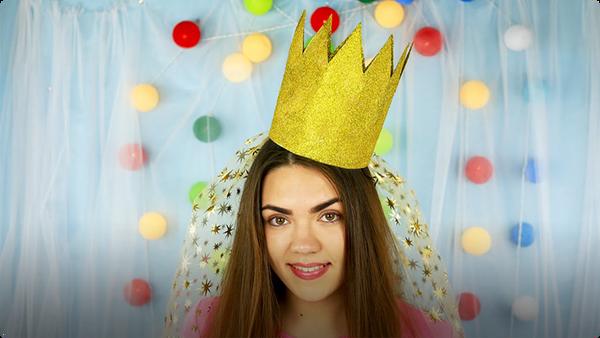 How to Make a Princess Birthday Crown