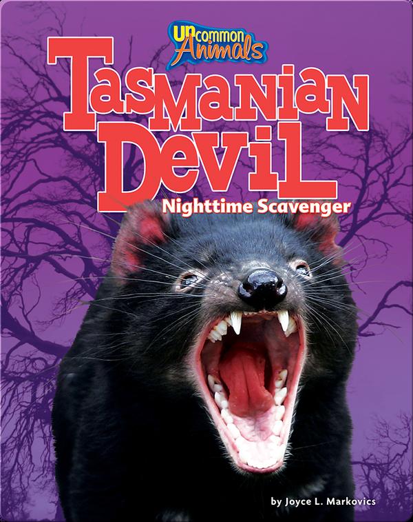 Tasmanian Devil: Nighttime Scavenger