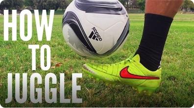 The Beginner's Tutorial to Soccer/Football Juggling