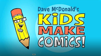 Kids Make Comics #1: Simple Shapes Make Super Characters!