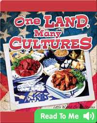 One Land, Many Cultures