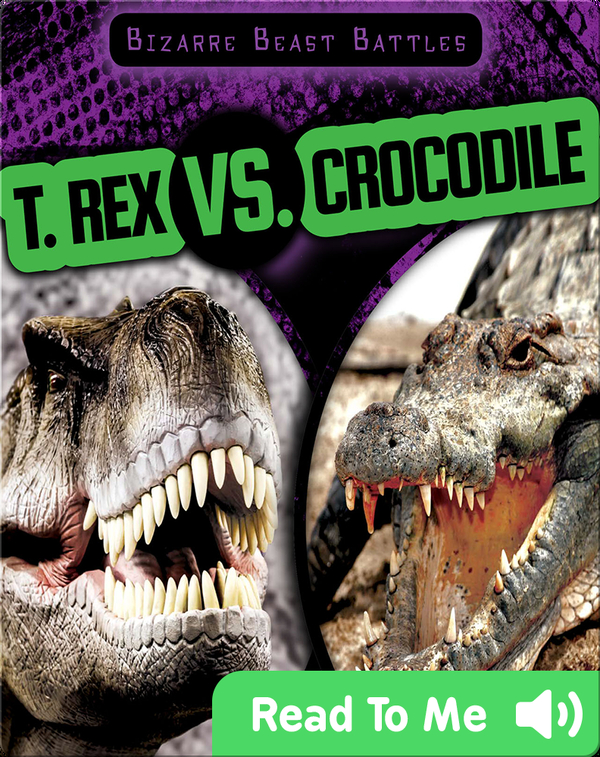 T. Rex vs. Crocodile