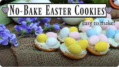 No-Bake Easter Cookies! Kid-Friendly Dessert Recipes