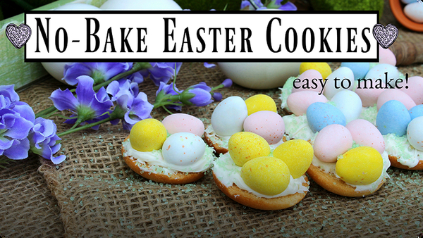No-Bake Easter Cookies! Kid-Friendly Dessert Recipes