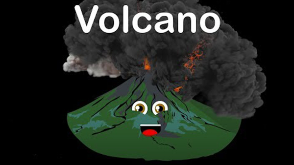 Volcano Song for Kids