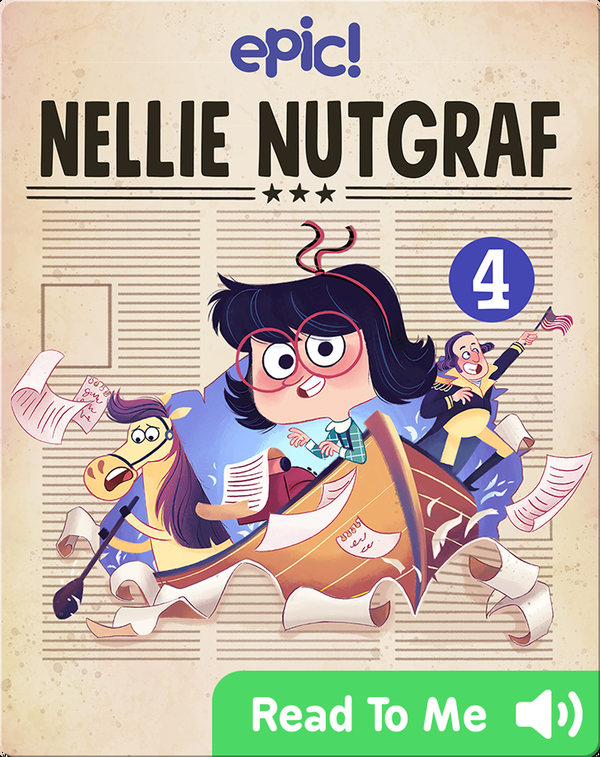 Nellie Nutgraf Book 4: Breaking News