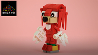 How To Build LEGO Knuckles the Echidna