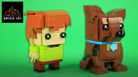 How To Build LEGO Scooby Doo and Shaggy BrickHeadz