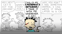 Drawing Big Nate: The Cartoonist's Notebook