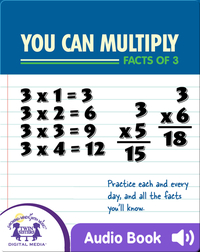 You Can Multiply Facts of 3