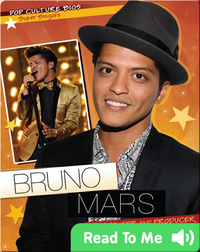 Bruno Mars: Pop Singer and Producer